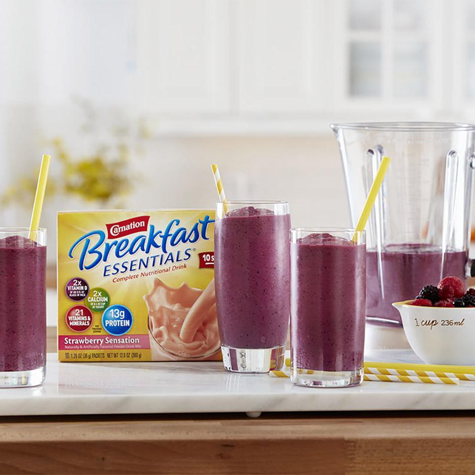Berry Smoothie from Carnation Breakfast Essentials®