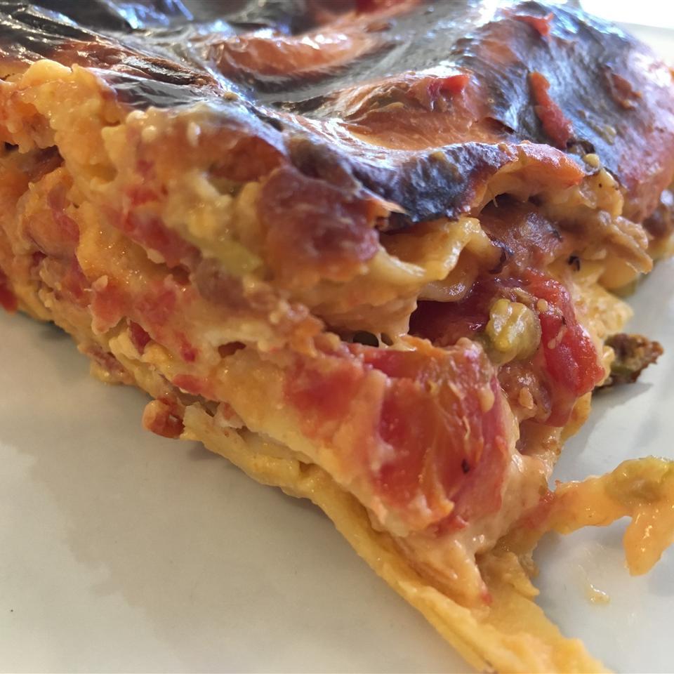 Ooey Gooey Chili Mac Lasagna Leslie Kelly