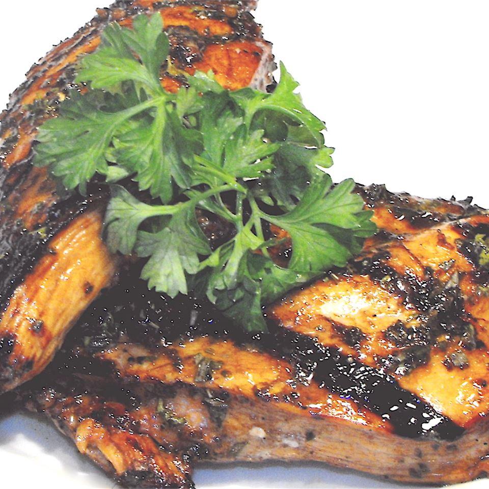 Grilled Chicken with Herbs bellepepper