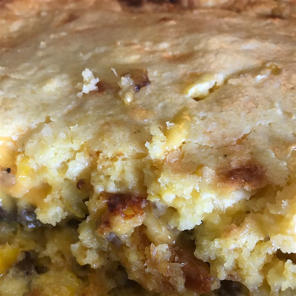Sausage Cornbread Bake Daisydear