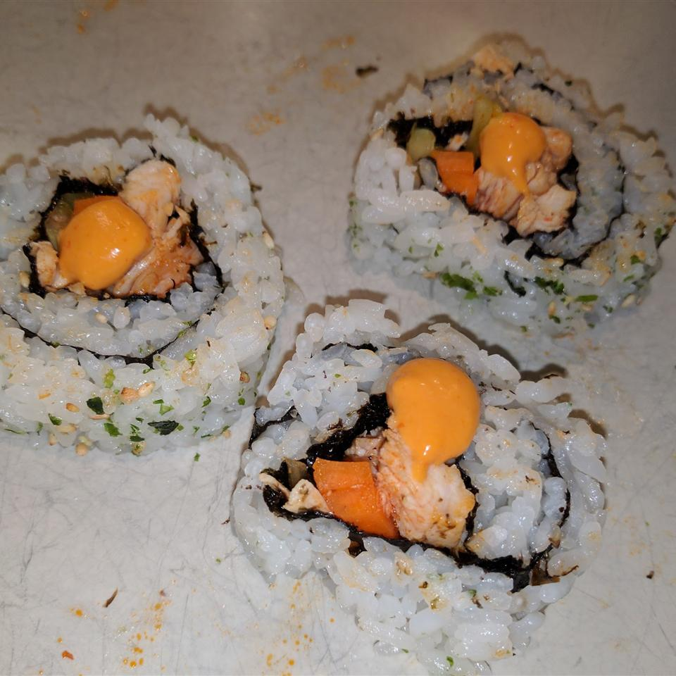 Buffalo Chicken Sushi Roll gmd393