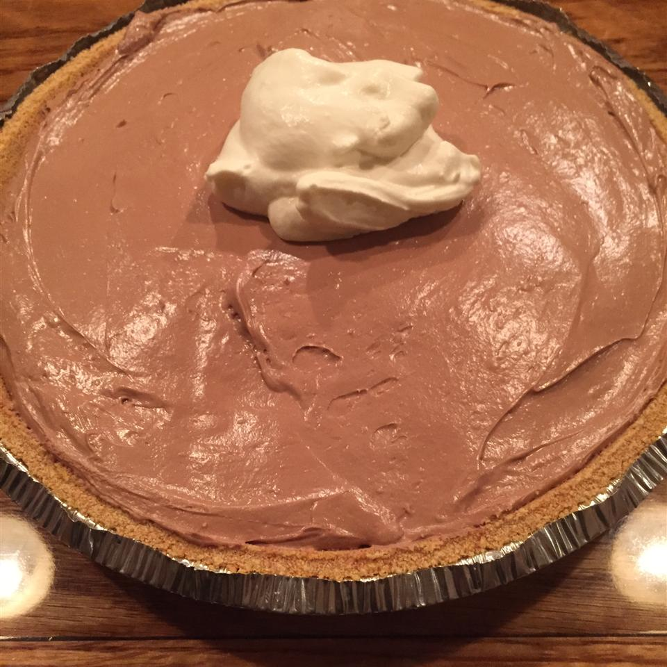 Easy, No-Bake Nutella® Pie