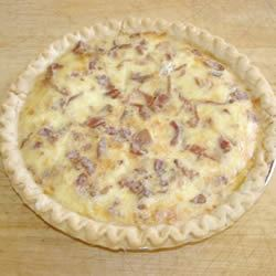 Bacon and Swiss Quiche chris