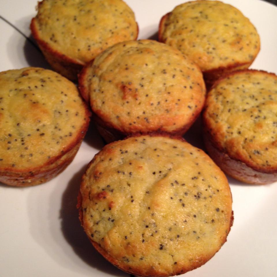 Keto Low-Carb Lemon Poppy Seed Muffins