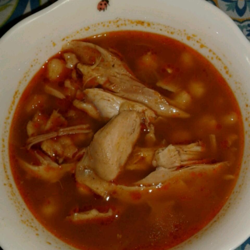 Easy Chicken Posole