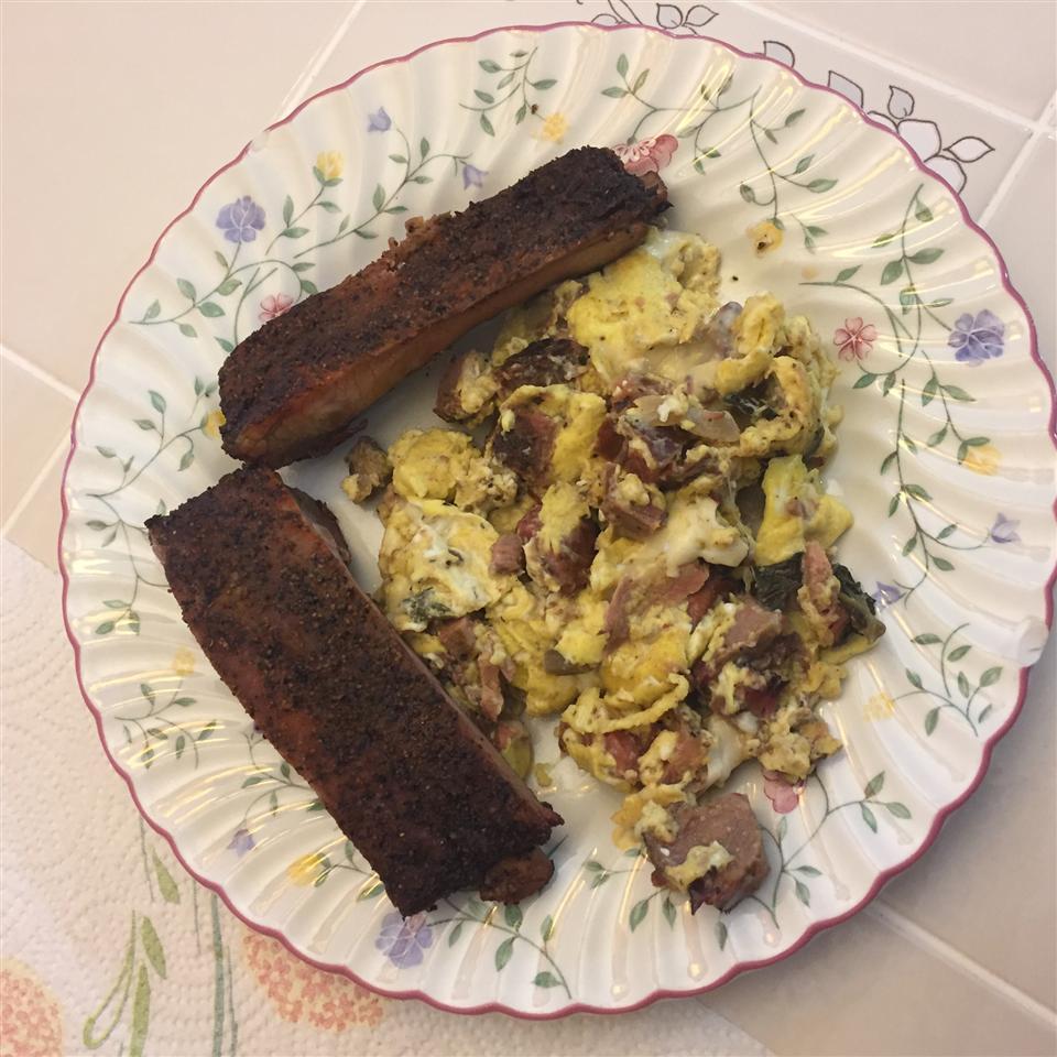 Sausage, Egg, and Cheese Scramble Dan Starks