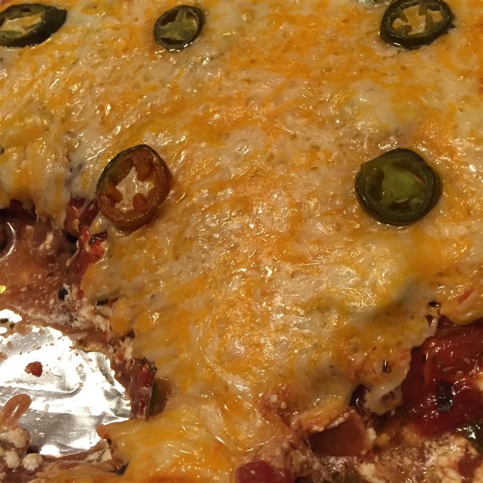 Spicy Layered Bean Dip