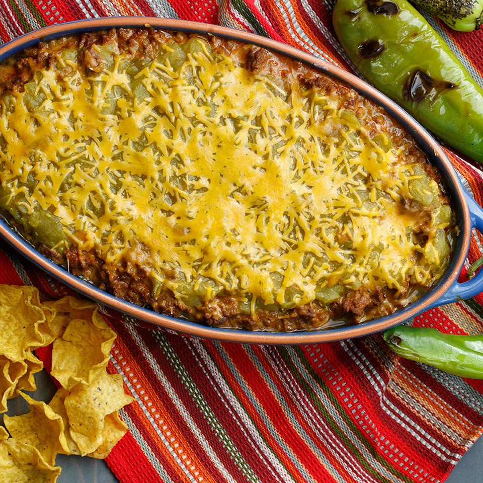 New Mexico Green Chile Dip