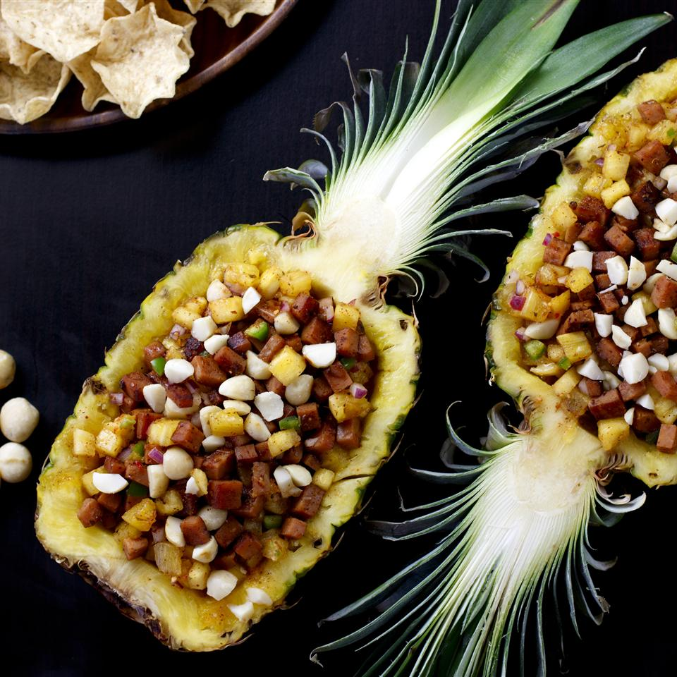 Hawaiian Ham and Pineapple Salsa