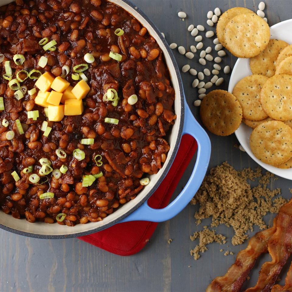 Boston Baked Bean Dip