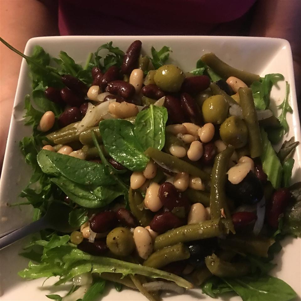 Three Bean Salad With Celery John and Christine