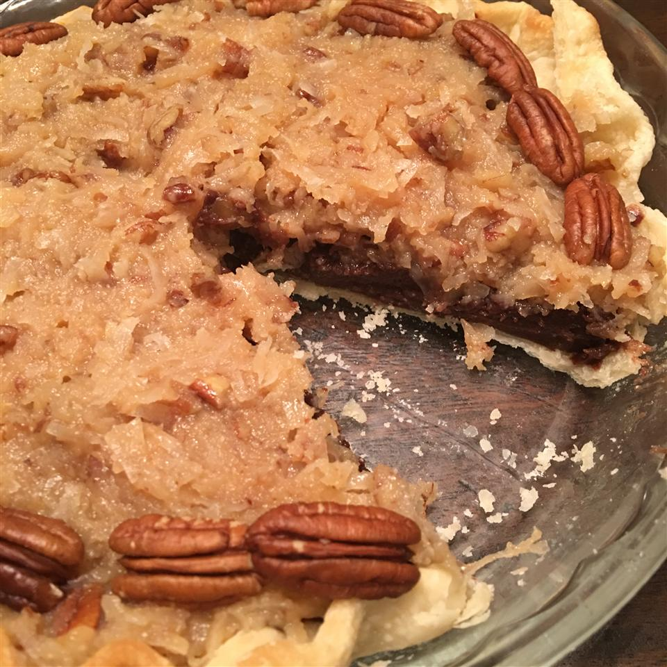 German Chocolate Pie bcormier