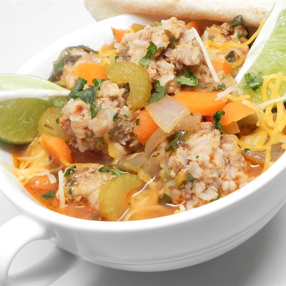 Lita's Albondigas (Meatball Soup)