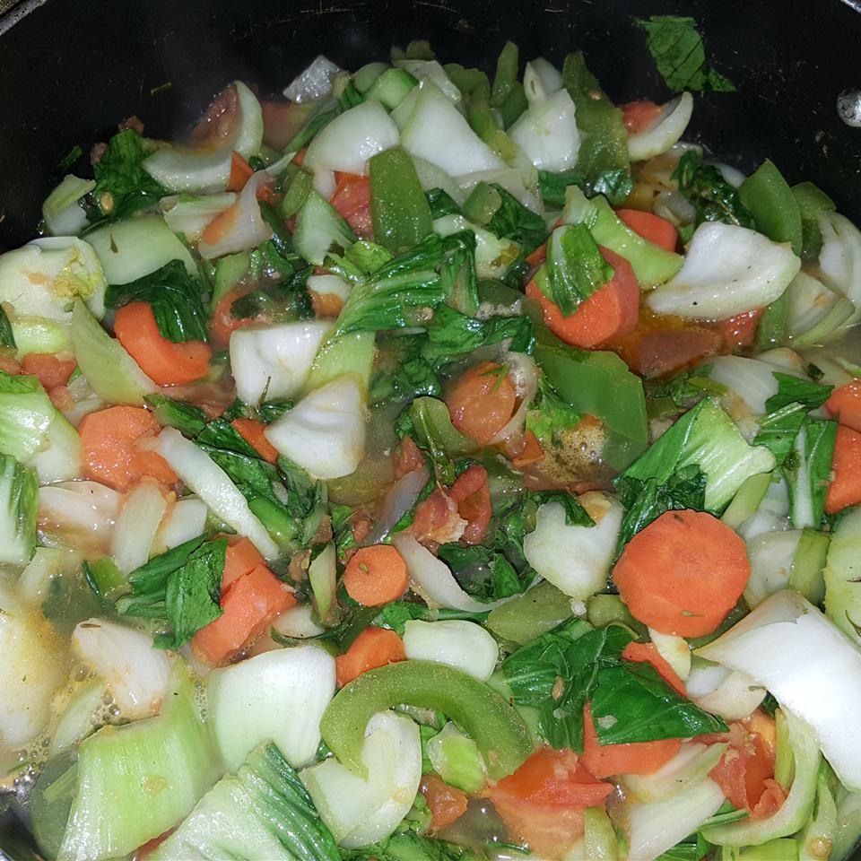 Chef John's Garlic and Ginger Bok Choy Hazel Charles
