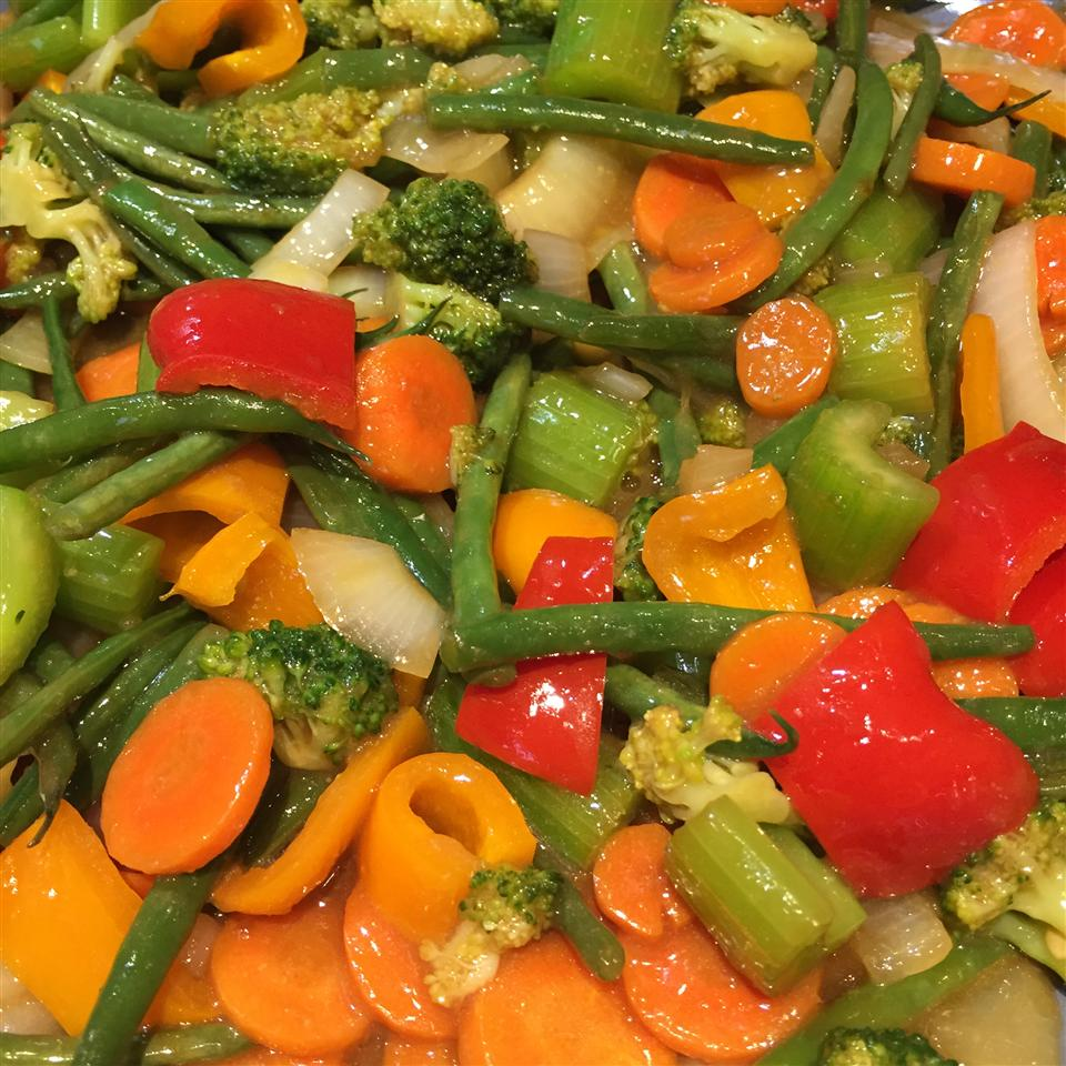 Stir-Fry Broccoli With Orange Sauce Sarah Mazur