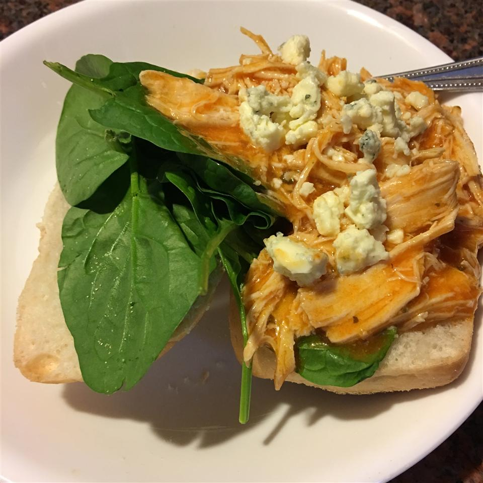 Slow Cooker Buffalo Chicken Sandwiches Melissa Bonnie
