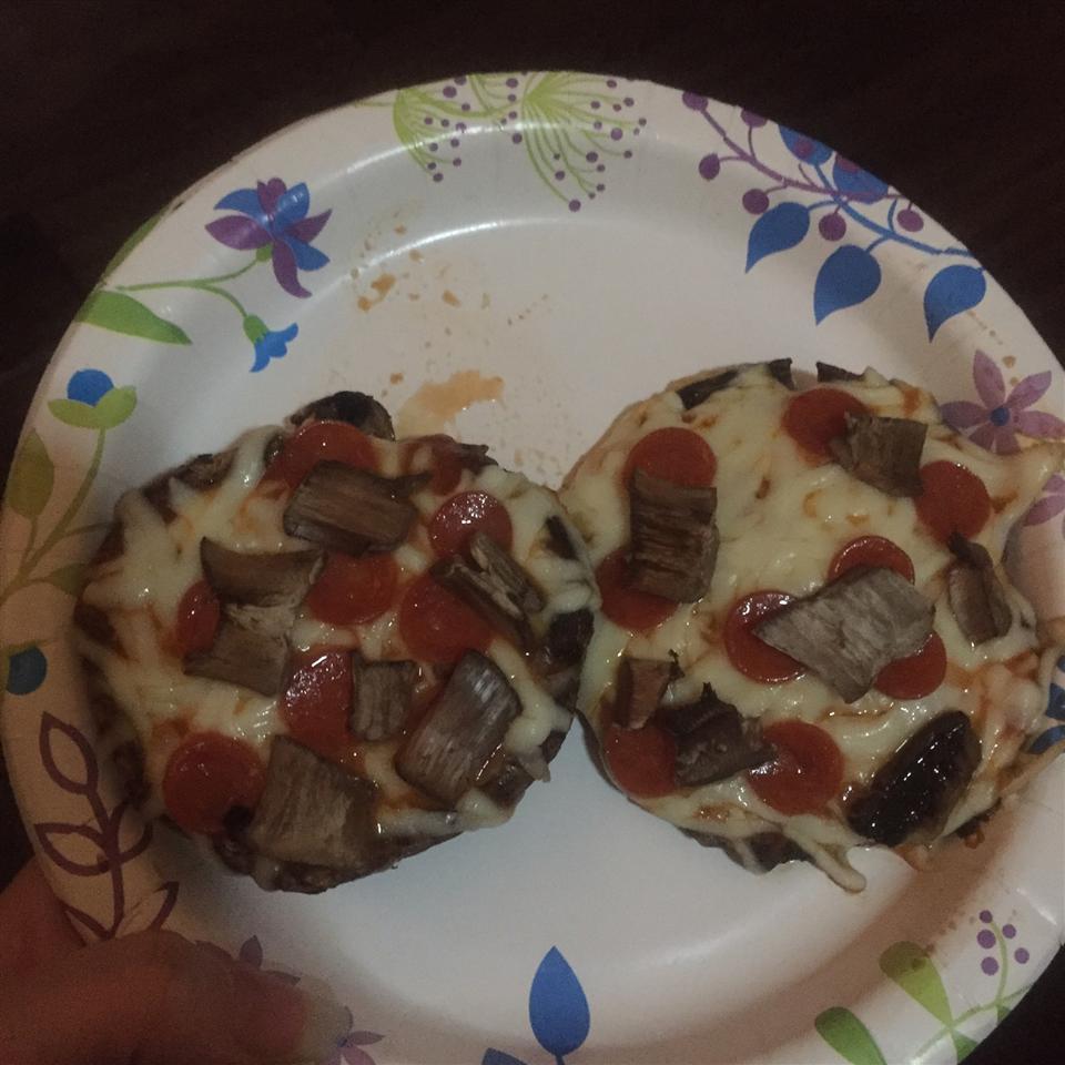 Personal Portobello Pizza