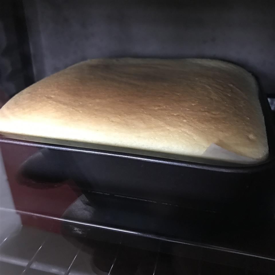 Spongy Japanese Cheesecake