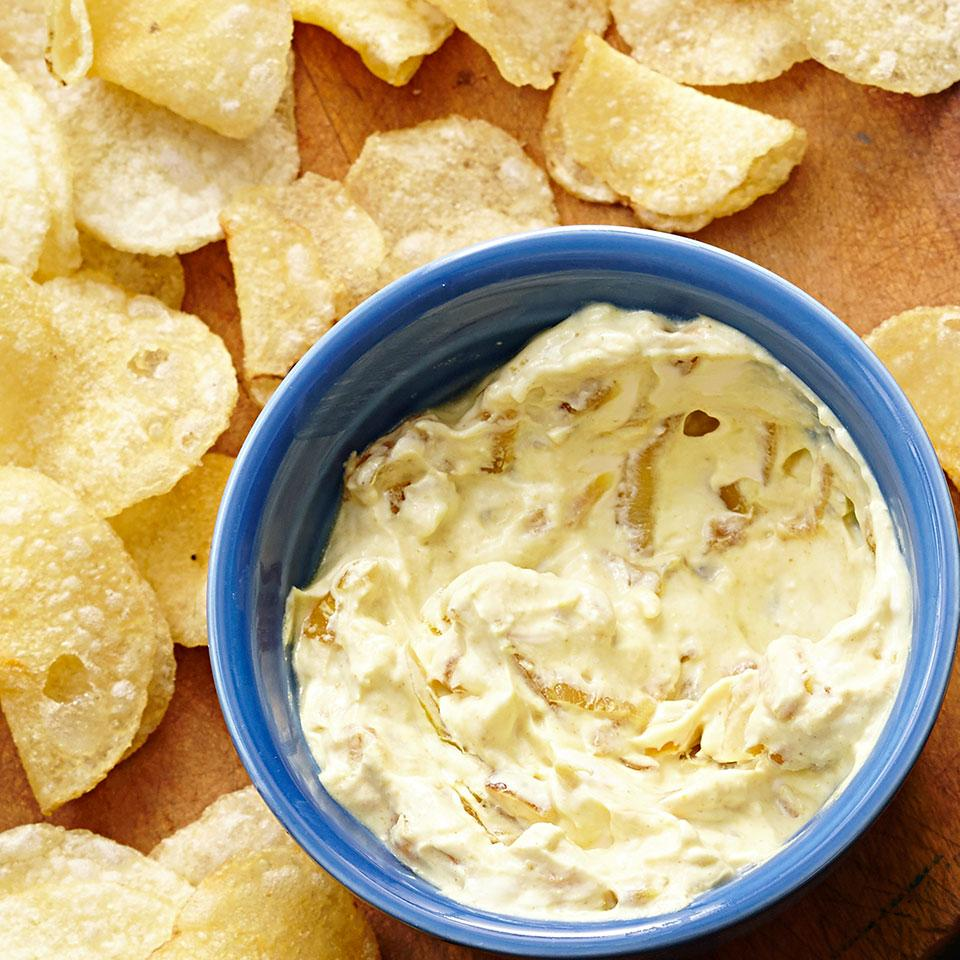 Curried Onion Dip EatingWell Test Kitchen