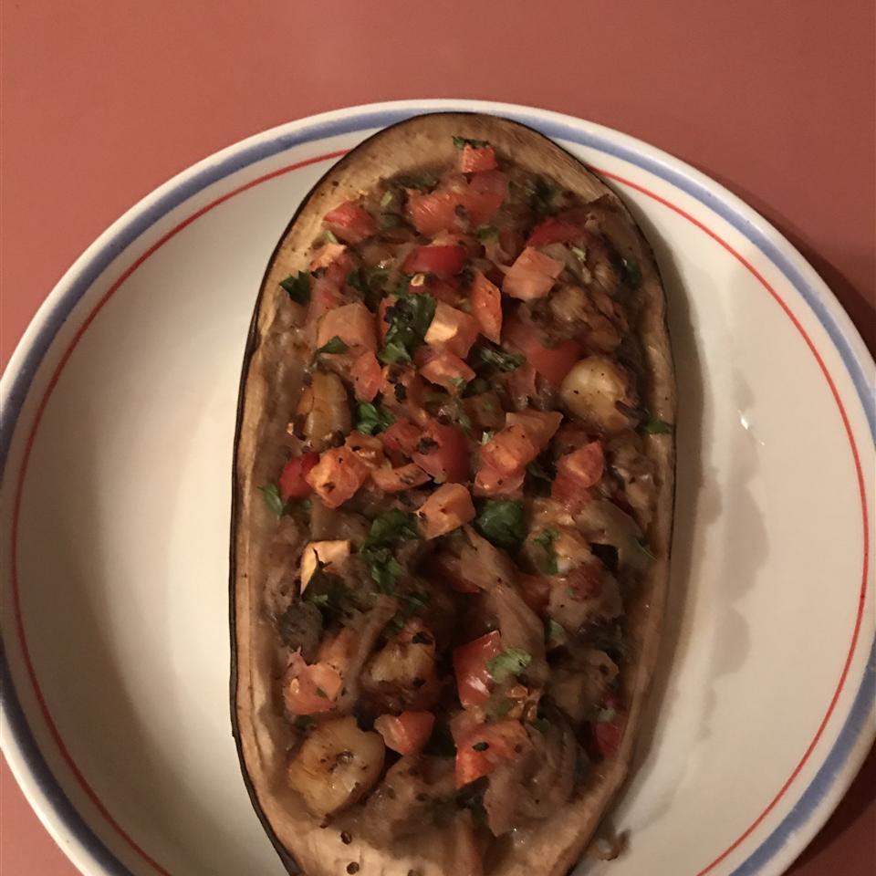 Shrimp Stuffed Eggplant halkalviv@yahoo.com