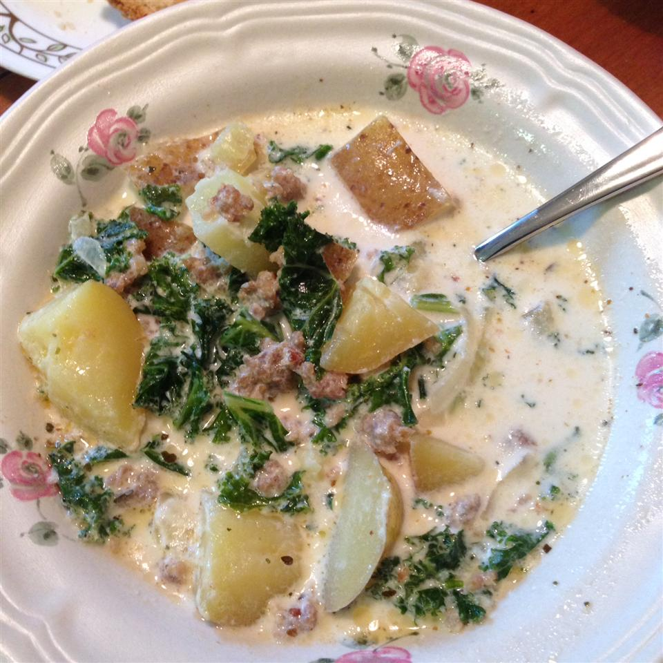 Sausage, Potato and Kale Soup James