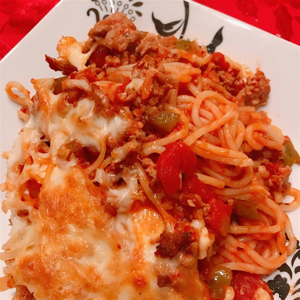 Spaghetti Casserole I