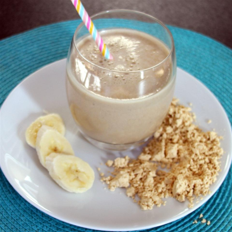 Oatmeal PB and Banana Smoothie Jennifer Aleman