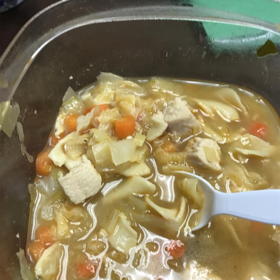 Thai Chicken Cabbage Soup Talena