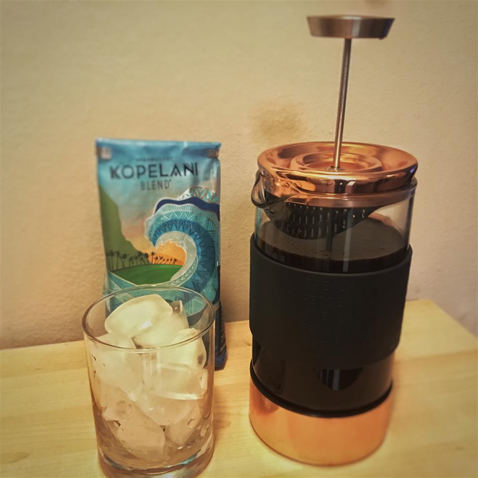 Cold Brewed Iced Coffee B. Tario