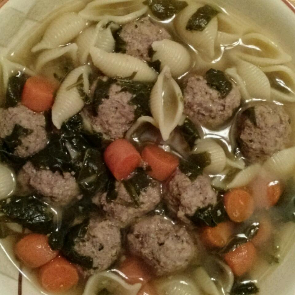 Mama's Italian Wedding Soup Janine