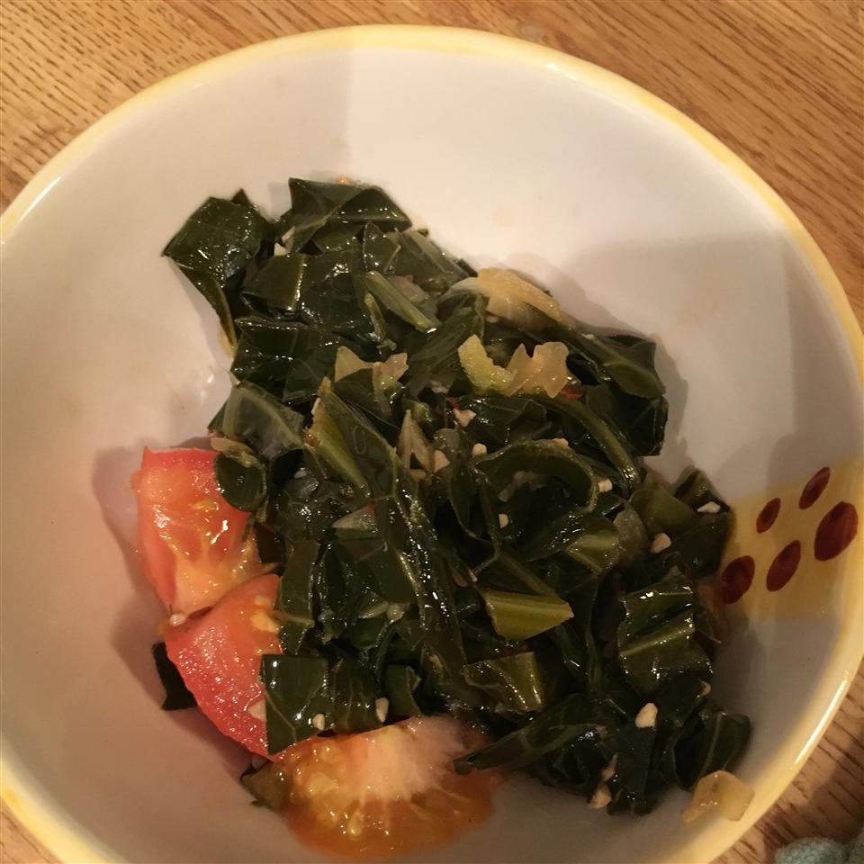 Smoky Vegetarian Collard Greens adrianne
