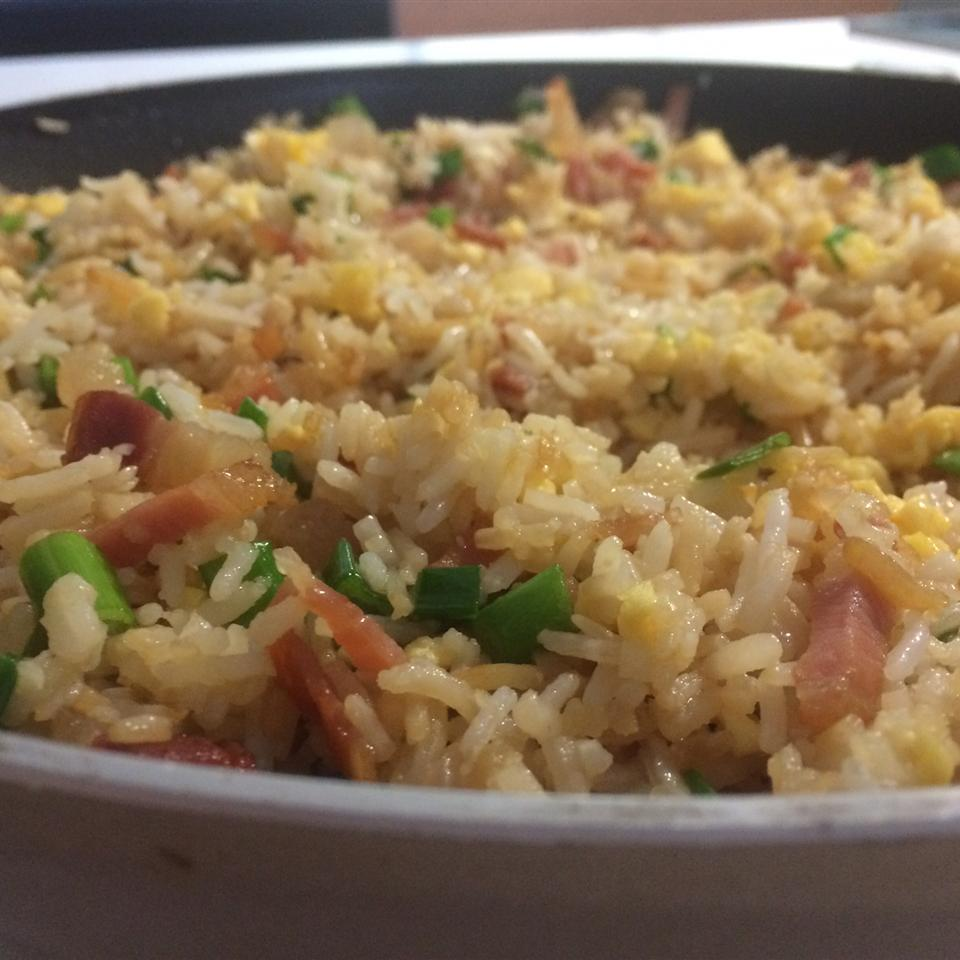 Fried Rice with Bacon and Sriracha Icarus Tallis