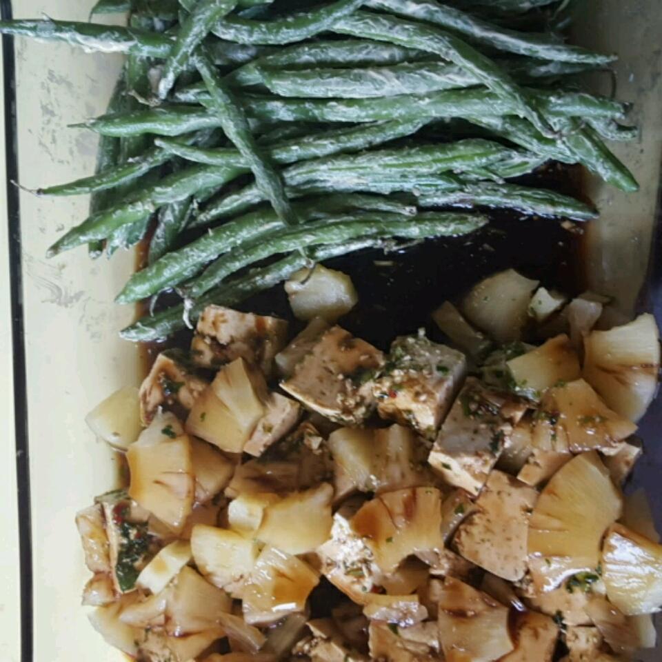 Teriyaki Tofu with Pineapple veggigoddess