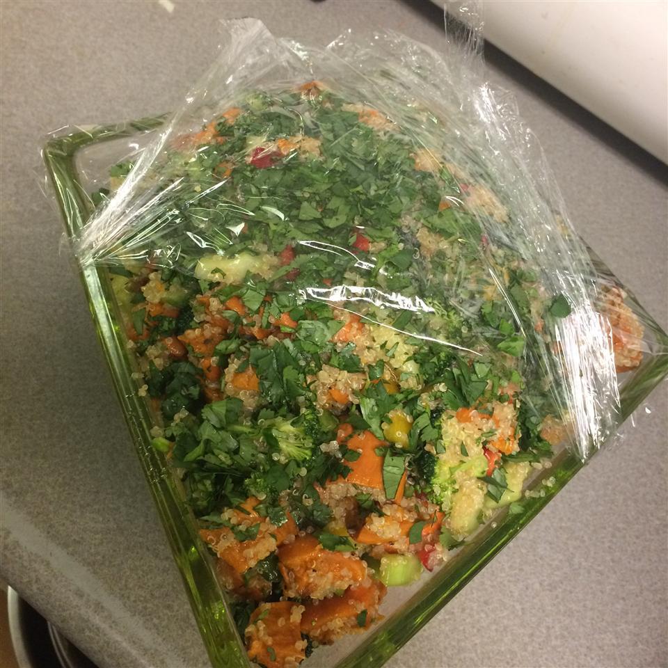 Roasted Sweet Potato Quinoa Salad Nanny Cass
