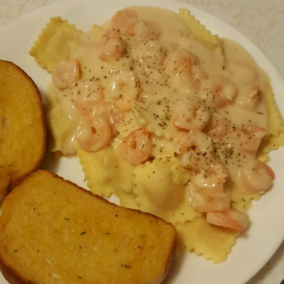 Shrimp and Pasta in Lemon Cream Sauce Neal Morris