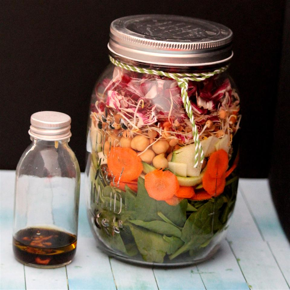 Salad in a Jar Buckwheat Queen