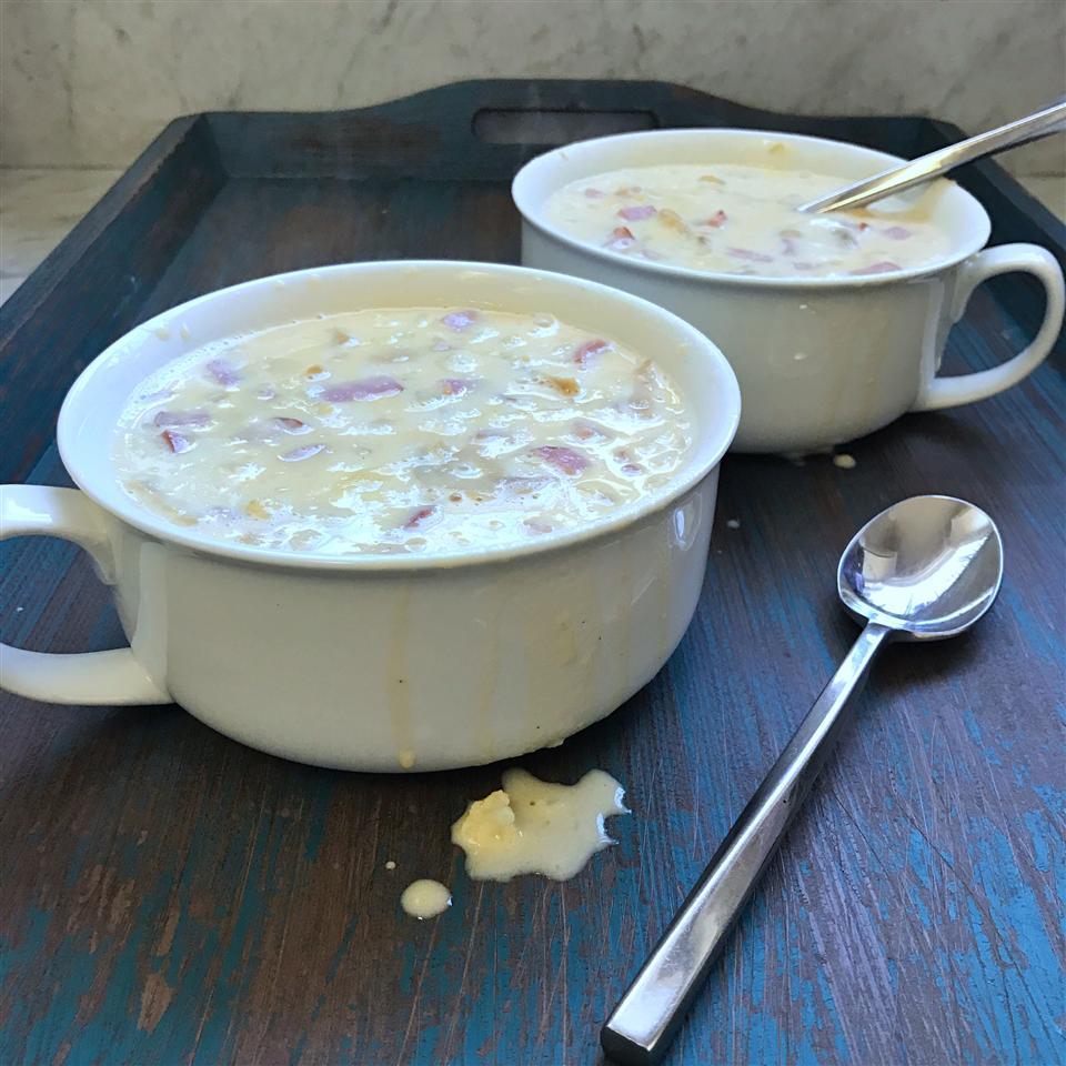 Cauliflower Cheese Soup II fabeveryday