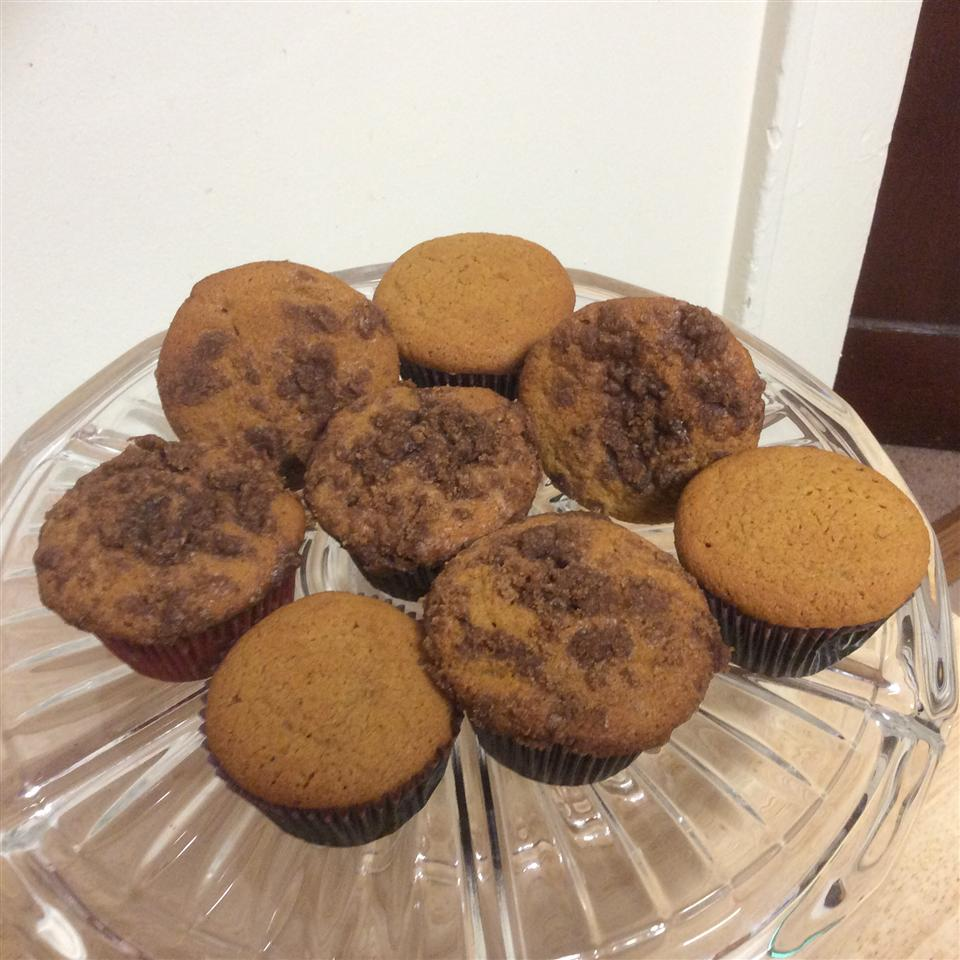 Pumpkin Muffins with Cinnamon Streusel Topping Diane McQueen