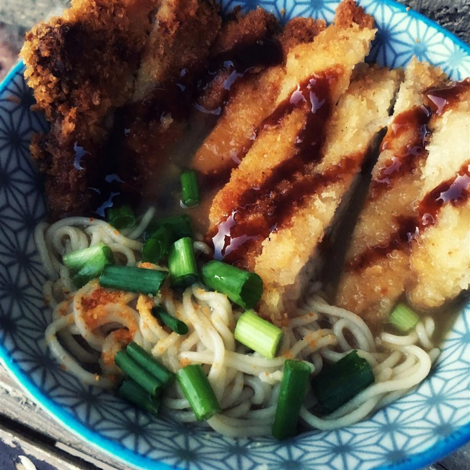 Tonkatsu Shoyu Ramen (Pork Cutlet Soy Sauce Ramen)