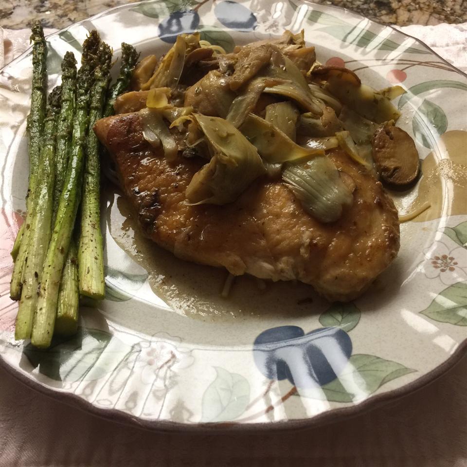 Chicken With Portobello Mushrooms and Artichokes Bonnie Harling