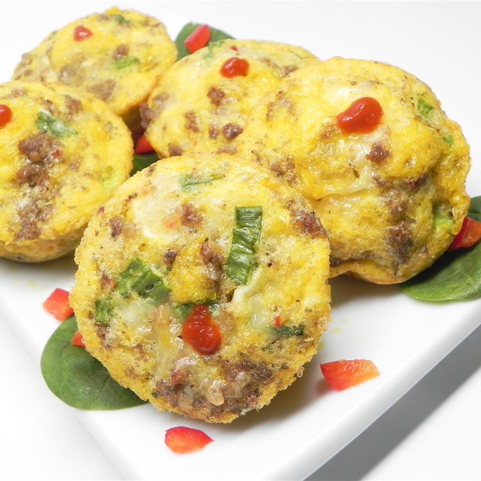 Sausage and Scallion Egg Muffins