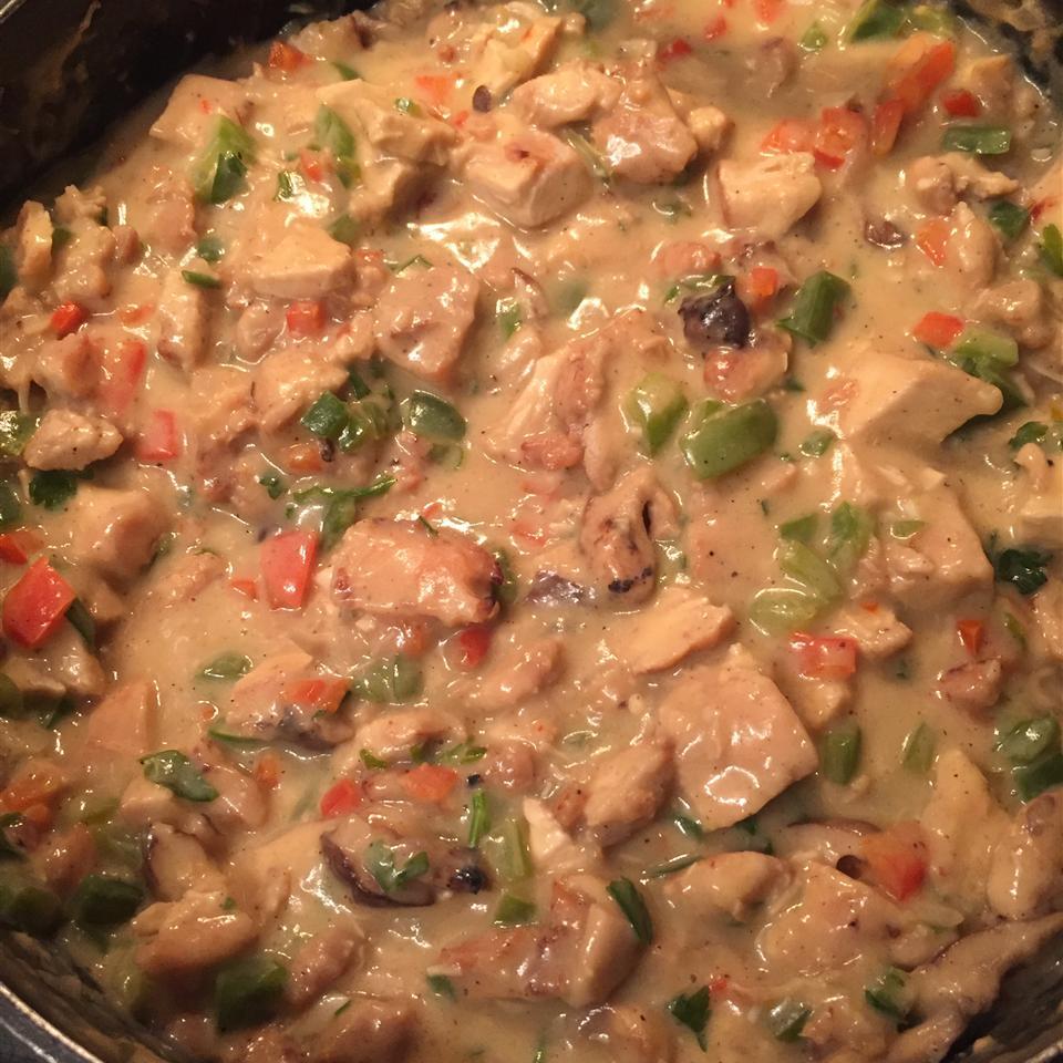Chef John's Chicken a la King