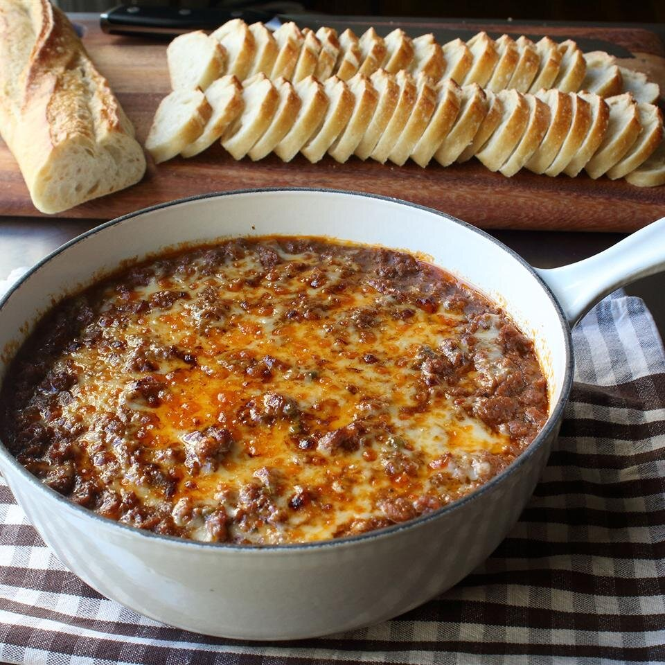 Chef John S Hot Sloppy Joe Dip Allrecipes
