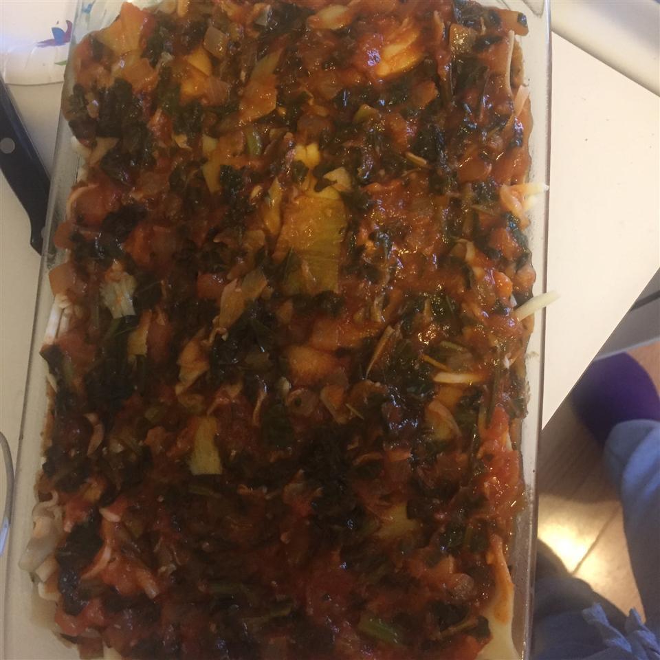 Artichoke Spinach Lasagna