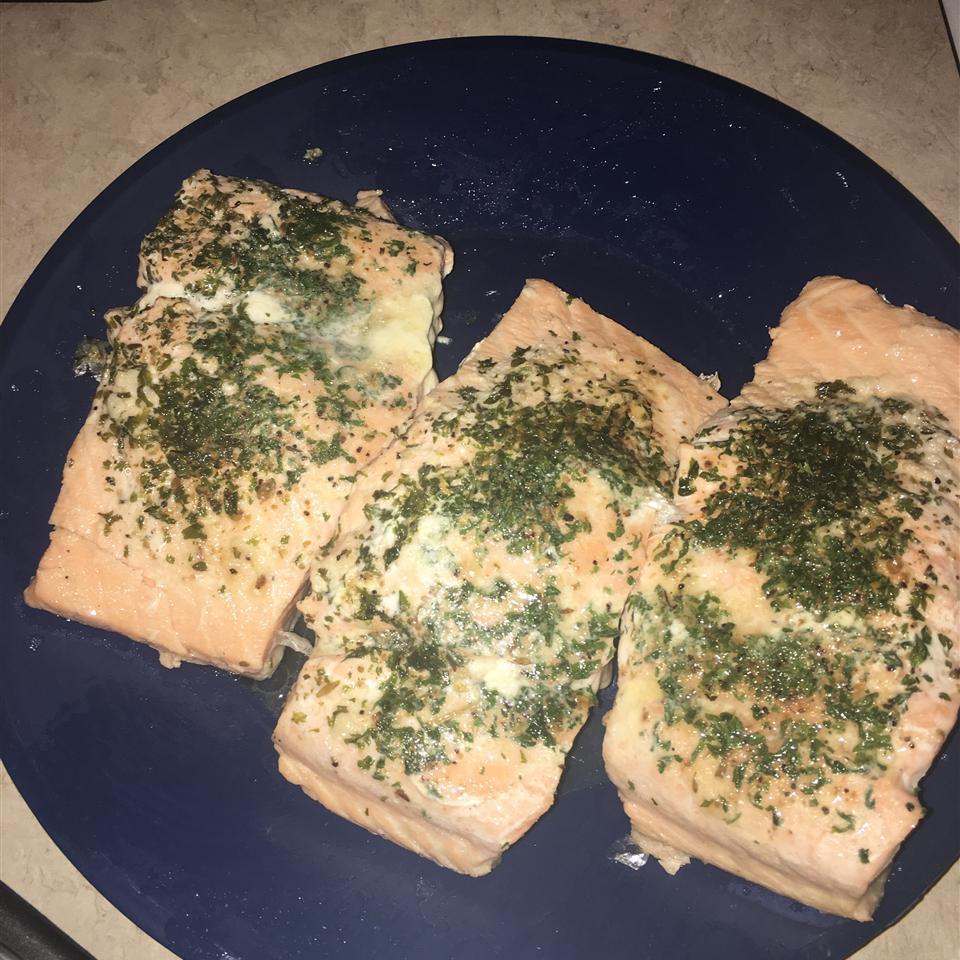 Poached Salmon II