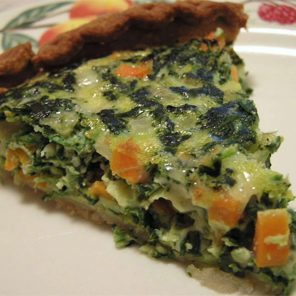 Spinach and Carrot Quiche CRISTEN1