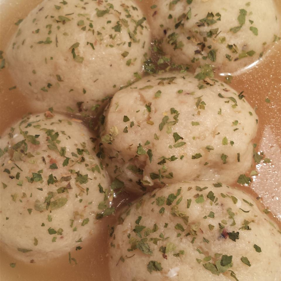 Fluffy Matzo Balls