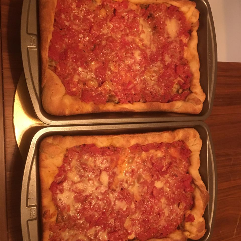 Chicago-Style Pan Pizza ibrahimtamerm