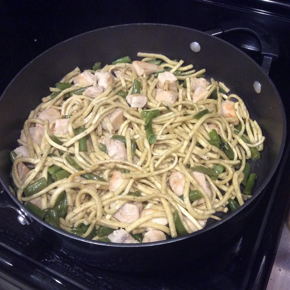 Quick Chicken and Noodles Rosemary Caronia