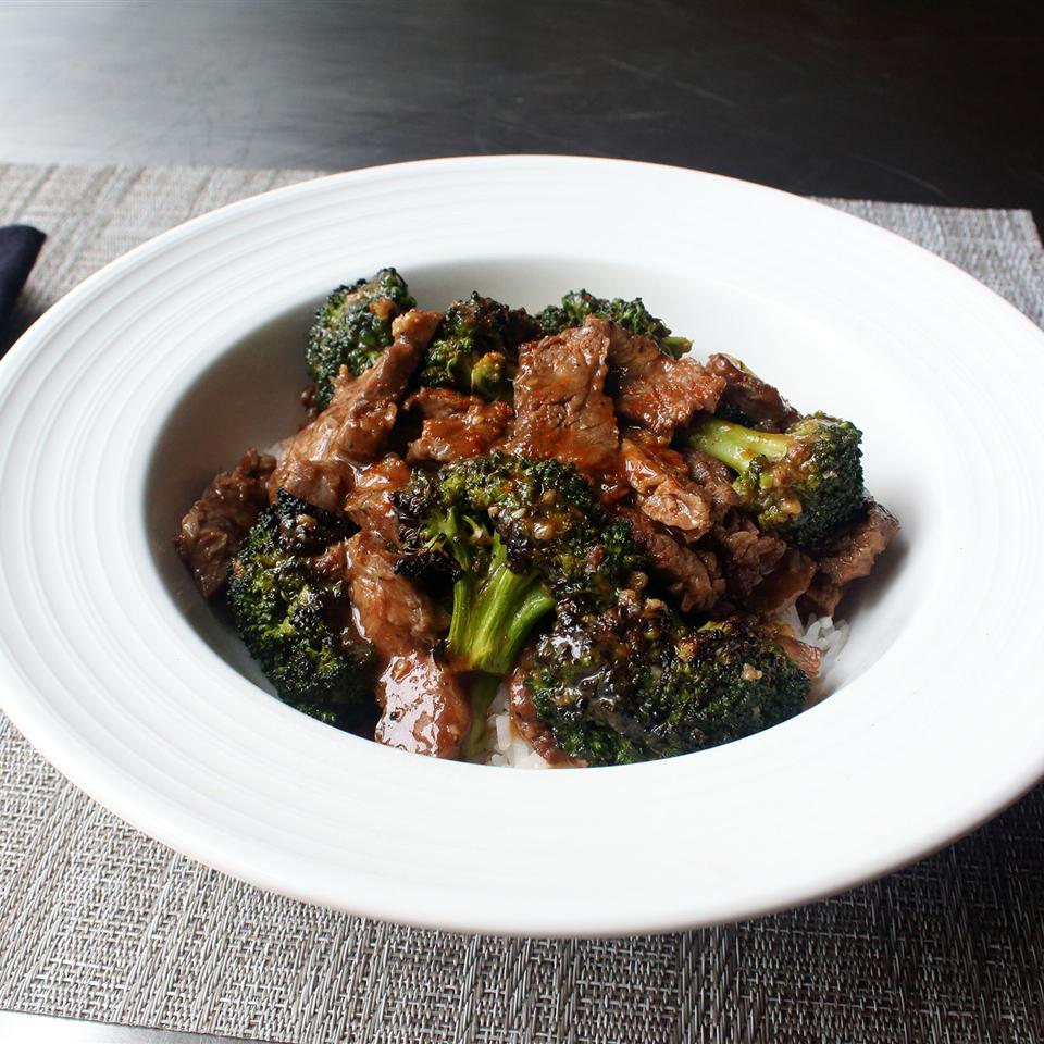 Charred Broccoli Beef Chef John